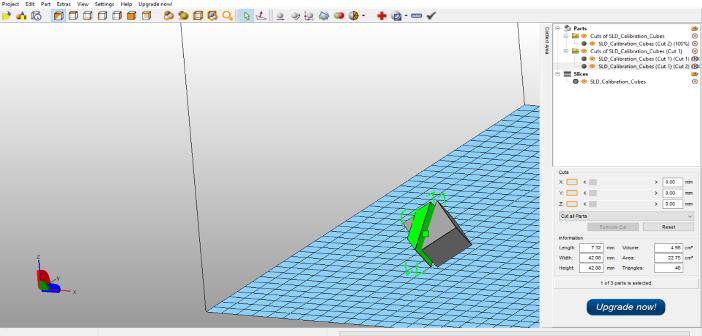 Meshmixer i netfabb – przycinanie i dzielenie plików STL