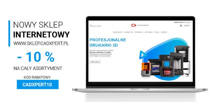 0019973fc3189e Krakowska firma CadXpert uruchomiła nowy e-sklep, którego asortymentem są  drukarki 3D, skanery 3D, materiały do druku 3D oraz akcesoria i części ...